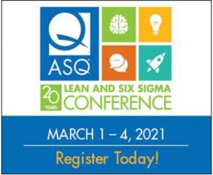 ASQ Lean & SixSigma