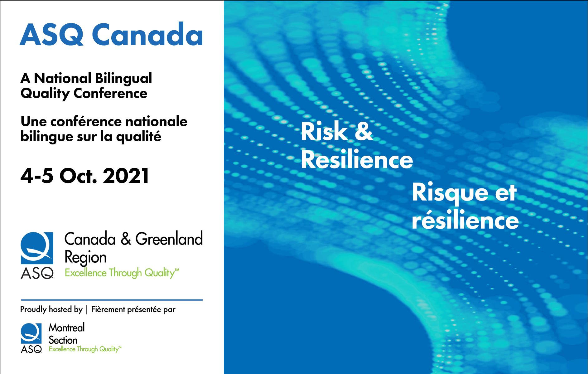 ASQ Canada Conference 2021