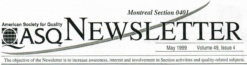 Newsletter Logo 1999