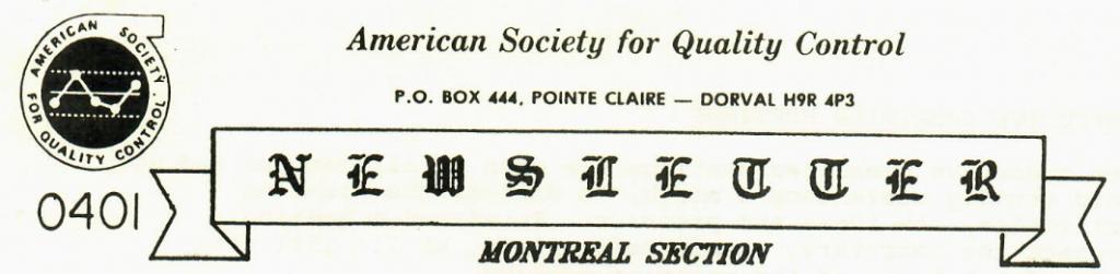 Newsletter Logo 1986
